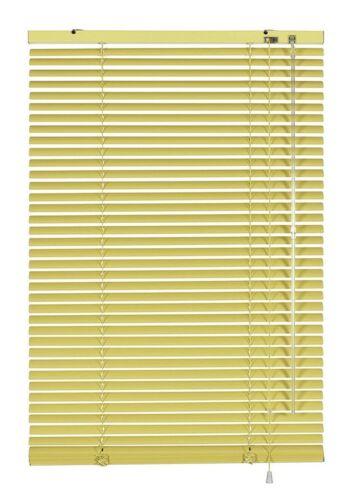 Aluminium Jalousie verschiedene Größen Fenster Rollo Jalousette Vanille Gardinia