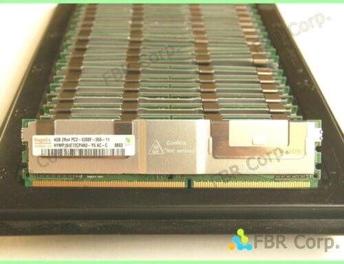64GB 32GB 16GB EXC Hynix 4GB PC2-5300F DDR2 667 FB Server Memory Ram Lot 16 8 4