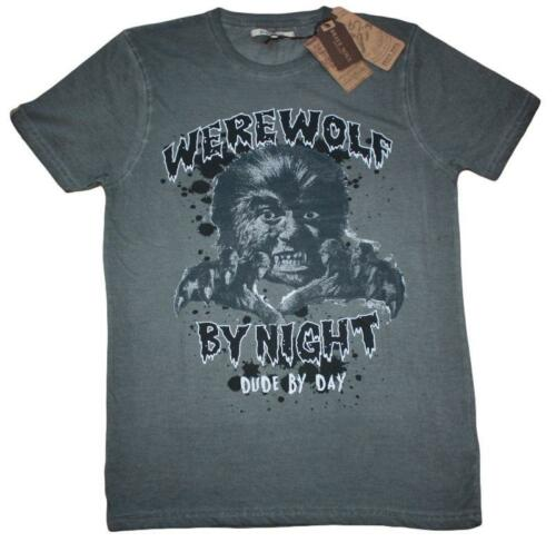 Loup-garou by night-homme-Unisexe T-shirts-grand objet pour Halloween
