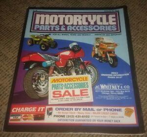 1980 S J C Whitney Motorcycle Parts Accessories Catalog Harley Davidson Bikes Ebay