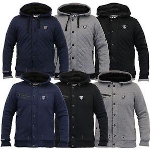 con Grey Sweat Aratro pelliccia Winter di Top uomo Giacca Foderato Rawcraft New cappuccio Diamond da Coat Heavy XxRZa4pw
