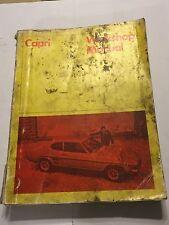 1969-71 FORD CAPRI OEM FACTORY SHOP WORKSHOP MANUAL 1300 1300GT 1600 & 1600GT GT