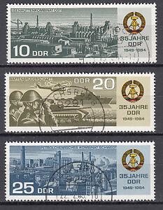 DDR-1984-Mi-Nr-2893-2895-TOP-Vollstempel-Gestempelt-LUXUS-22375