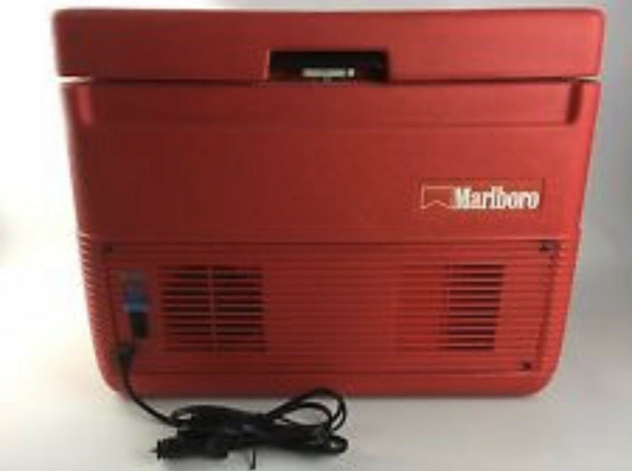 Vintage Marlbgold S232 Coleman Heating & Cooling 12 Volt Ice Chest Cooler New
