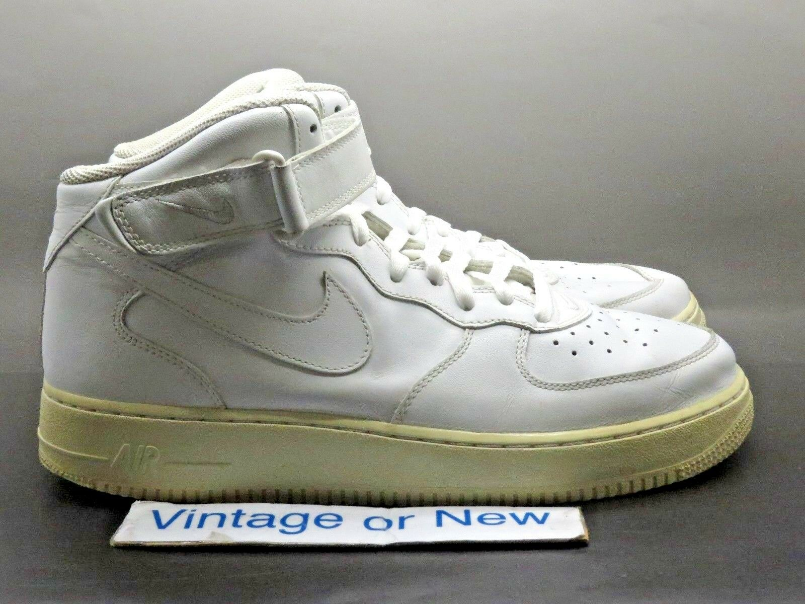 Nike Air Force 1 Mid White 2006 Price reduction Great discount