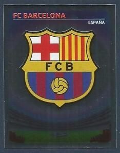 PANINI-UEFA-CHAMPIONS-LEAGUE-2007-08-043-BARCELONA-TEAM-BADGE-SILVER-FOIL