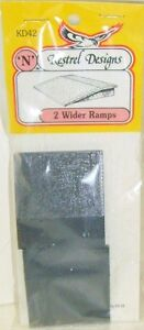 041ab3196ecf Kestrel KD42 Wider Platform Ramps x 2. (Plastic Model Kit) N Gauge ...