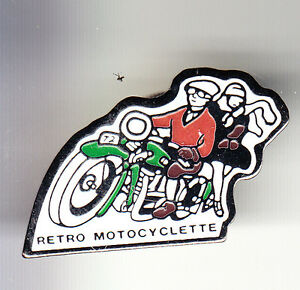 RARE-PINS-PIN-039-S-MOTO-MOTORCYCLE-CLUB-TEAM-RETRO-MOTOCYCLETTE-FRANCE-BN