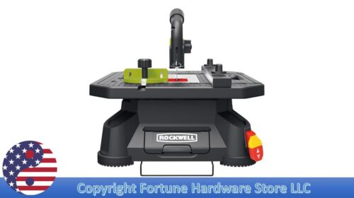 ROCKWELL RK7323 Blade Runner X2 4-in Carbon 5.5-Amp Table Saw 2,800-RPM NEW