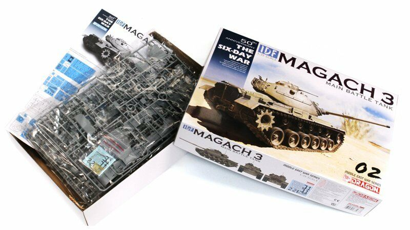 DRAGON 3567 1 35 IDF Magach 3 Main Battle Tank