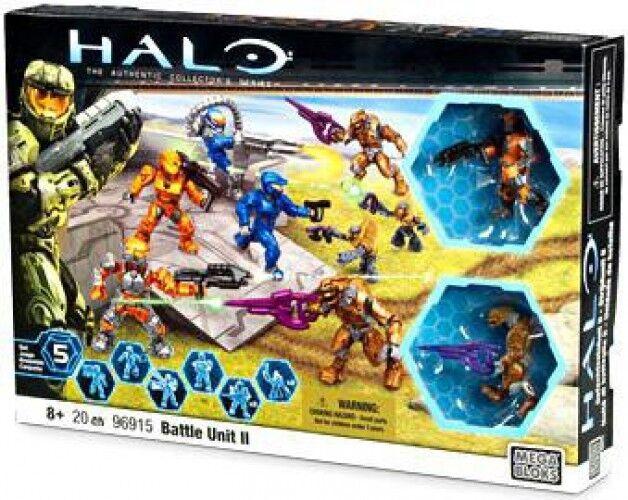Mega Bloks Halo Batalla Unidad II exclusivo Set  96915