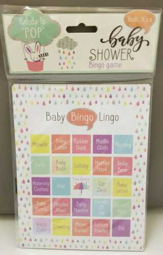 "Baby Bingo Lingo /""Ready to Pop!/"" *BABY SHOWER* BINGO Game"