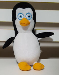 PENGUINS-OF-MADAGASCAR-CHARACTER-PLUSH-TOY-SOFT-TOY-ABOUT-19CM-TALL-KIDS-TOY