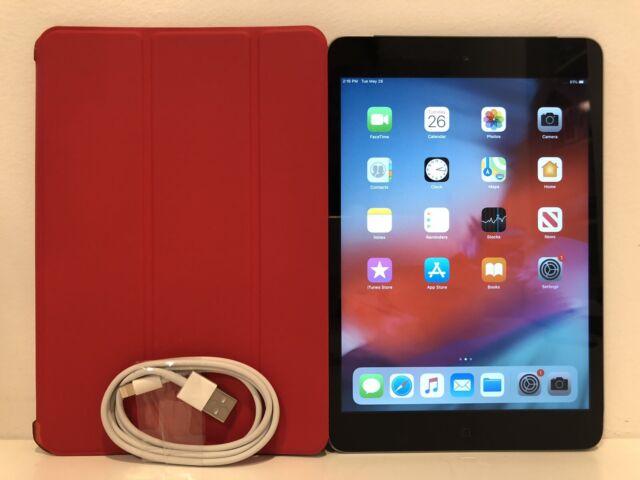 Apple iPad mini 2 32GB, Wi-Fi + Cellular (Unlocked), 7.9in - Space Gray