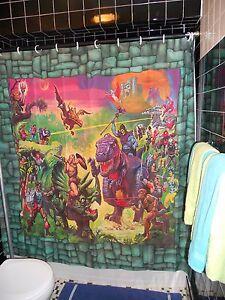 Image Is Loading Sample Prototype Masters Universe Shower Curtain Classics MOTU