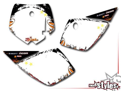 KTM SX 50 65 852001-2016Kid MX graffiti decoración Decals kit pegatinas Bud