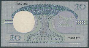 Congo-Kongo-20-Francs-15-04-1962-VF-Pick-4a