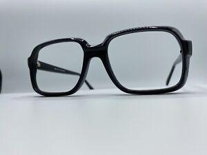 1980-s-Men-039-s-Black-52-20-145-Eyeglass-New-Old-Stock-similar-to-Cazal-Goliath