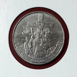 1984-034-Jacques-Cartier-034-Canada-Nickel-Dollar-1-Circulated-Coin