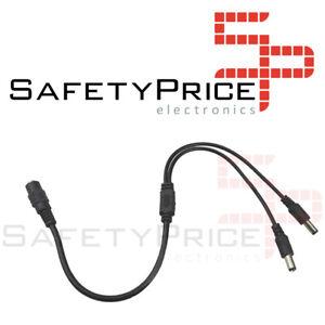 Cable-splitter-DC-duplicador-2-salidas-CCTV-camara-seguridad-12V-2-1mm-x-5-5mm