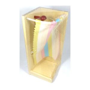 # Rülke 22254 Badewanne Rustikal 1:12 für Puppenhaus aus Erzgebirge Holz NEU Puppenstuben & -häuser