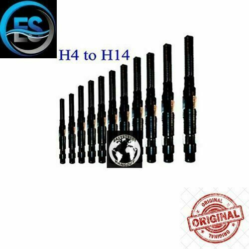 Details about  /11 Pcs Adjustable Hand Reamer Set H4 to H14 A-K Size 15//32 inch to 1.1//2 inch