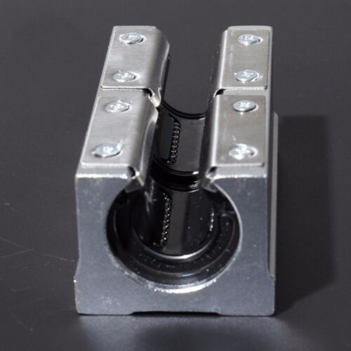 1Pcs SBR20LUU 20mm Router Linear Motion Bearing Slide Block Unit XYZ CNC Series