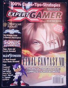 Expert-Gamer-Magazine-Issue-64-October-1999-Final-Fantasy-VIII-Nintendo-RPG-Rare