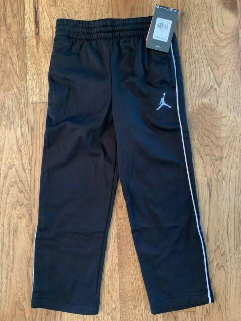 Jordan Boys Jumpman Therma-FIT Pants 852747 Black Grey Size 7