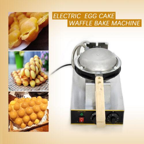 1400W Waffeleisen Waffeln Waffelmaschine Egg Bubble Maker Puff Blase 50-250 °C