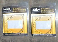 Intermatic Malibu Low Volt Triangle Lens Set Clear Lot Of 2 Wow