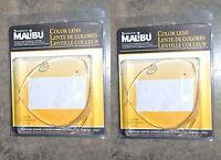 Intermatic Malibu Low Volt Triangle Lens Set Clear Lot Of 2 Wow