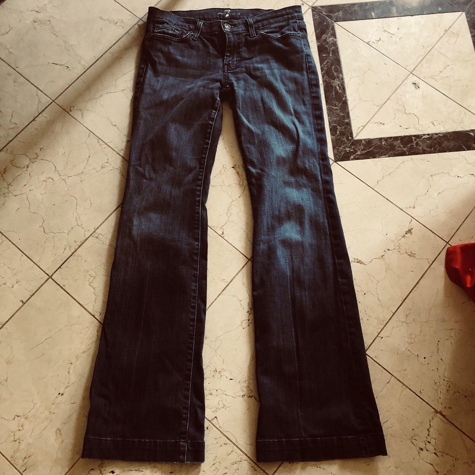7 Seven For All Mankind Women's Dojo Bootcut Denim Jeans Sz 28 U115JJ380S