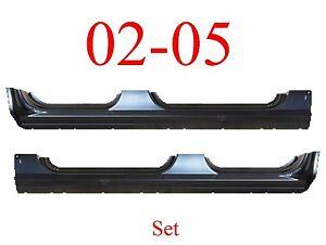 02 05 Ford Explorer Dog Leg Set Repair Panel OEM Type Extends Into Jams!