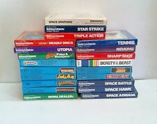 21 NEW FACTORY SEALED GAMES FOR INTELLIVISION, BEAUTY AND THE BEAST, DONKEY KONG