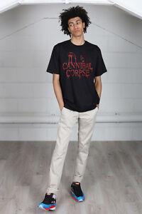 Official-Cannibal-ACIDO-SANGUE-T-Shirt-Unisex-Skeletal-Domain-TOMB-FASCIA