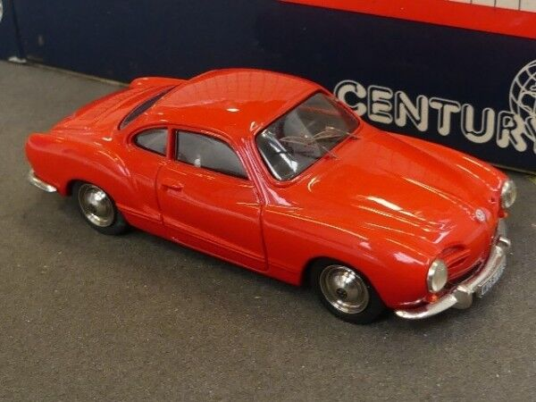 1 43 Century VW KARMANN GHIA COUPE RED 1201