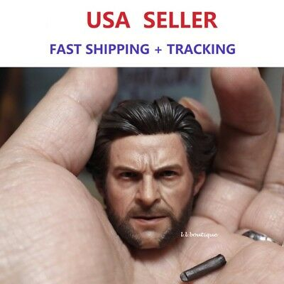 Custom 1//6 Scale Logan Wolverine WORLDBOX musculaire Complete Full Set Figure