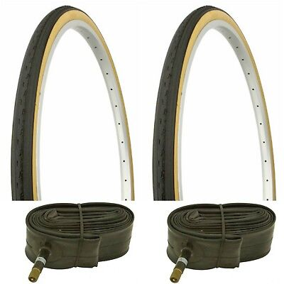 2 Inner Tubes Bicycle NEW* 26x1-3//8 2 26 x 1 3//8 Bicycle Gumwall Tires +