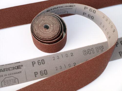 Emery Cloth Roll 80 180 120 240 320 grit 5 Metre x 25mm STARCKE Abrasive flex