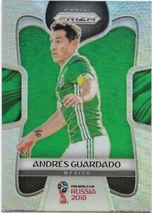 5e448f3141f 2018 Panini FIFA World Cup Silver Prizm (128) Andres GUARDADO Mexico ...