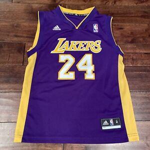 KOBE BRYANT Adidas LOS ANGELES LAKERS Purple #24 Jersey - Youth ...