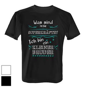 Superkrafte Kleiner Bruder Herren T Shirt Fun Shirt Geschenk Idee