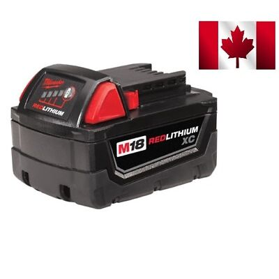 Milwaukee 48-11-1828 18-Volt XC High-Capacity Battery Pack
