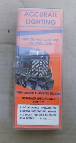 Accurate Lighting Model Train Items Select One Vintage NIP