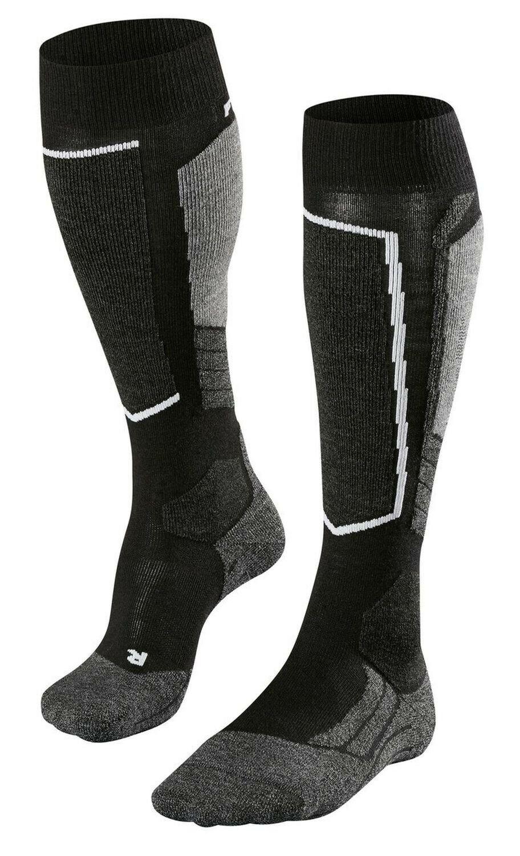 Falke Damen Ski-Socken Skisocken SK2 black - mix - schwarz