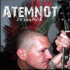 ATEMNOT 20 Jahre Punk CD (2009 Puke Music)