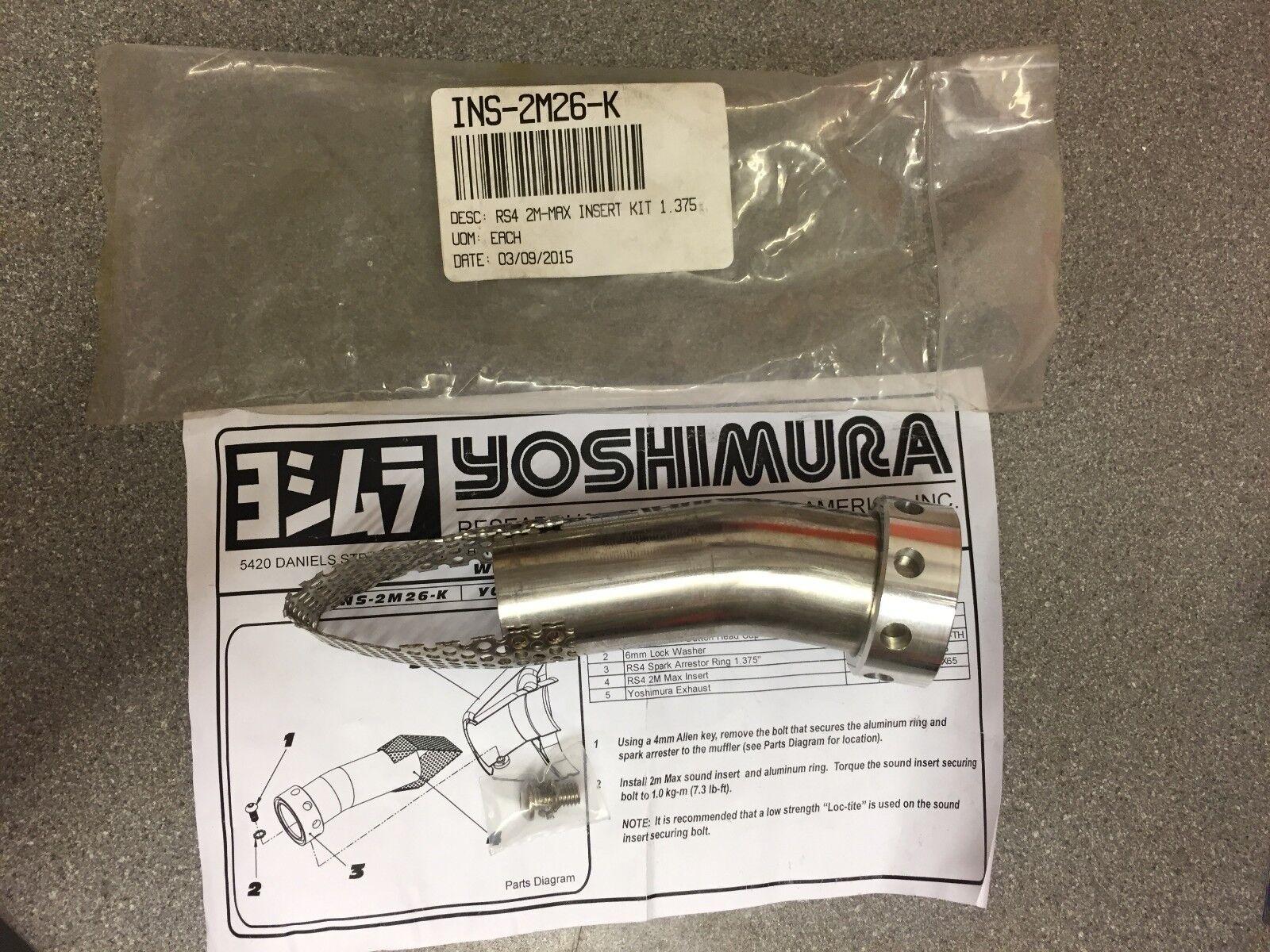 Yoshimura RS-4 Spark Arrestor Insert Kit 1.375