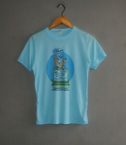 Vintage 1978 Knebworth Frank Zappa Nick Lowe Peter Gabriel Concert 70s T shirt