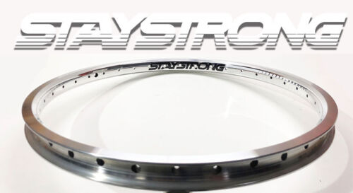 """BMX Rim Alloy from Stay Strong Rim 20 x 1.75/"""" 36H Front Polished"""